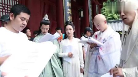 《天乩之白蛇传说》花絮:杨紫台词被乱改?还上手摸茅子俊的头!
