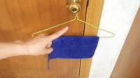 房间里为什么要挂一条毛巾?早点知道就好了,记得告诉家人