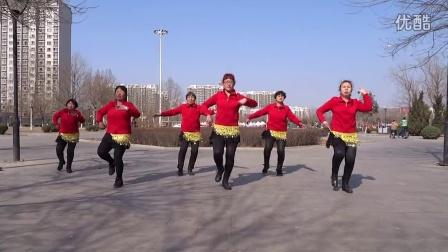 辛集市田庄乡豆腐庄村俏娇阳舞队学跳杨丽萍广场舞-----好心情
