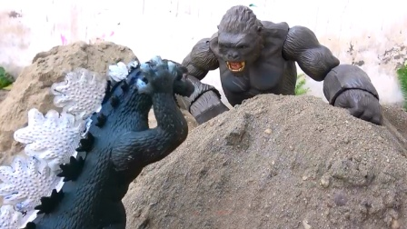侏罗纪世界2金刚大猩猩VS恐龙哥斯拉暴君大亨