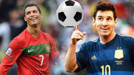 足球那些趣事,C罗和梅西
