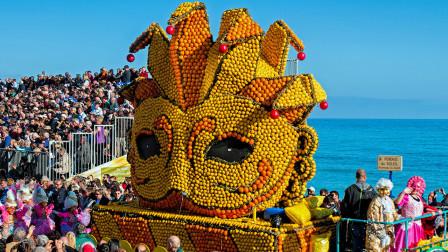 法国一节日要酸掉牙,要用掉130吨柠檬,已经持续86年!