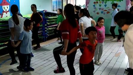 亲子舞蹈足球宝贝