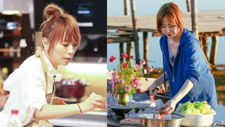 同样有颜值有手艺参加综艺,姜妍因《野生厨房》红了,她却相反!