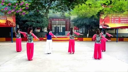 红领巾舞蝶广场舞:《油菜花之恋》