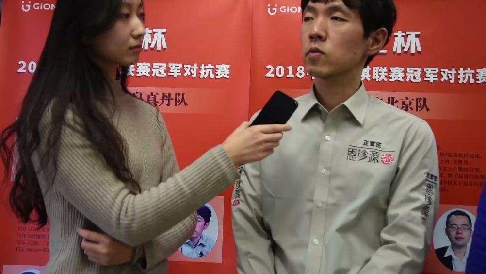 李昌镐:赢棋很幸运 AlphaGo能让我两子