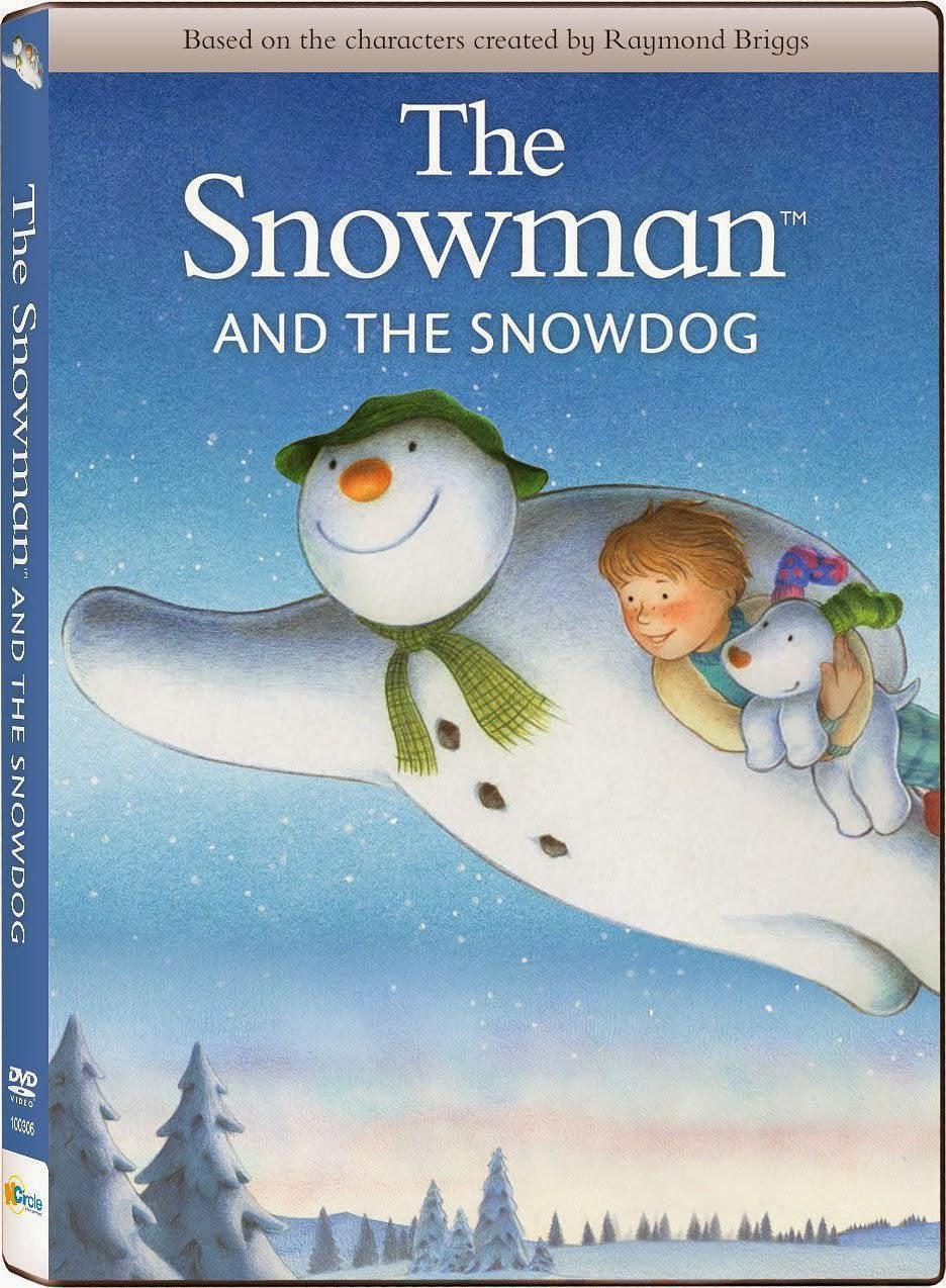 雪人与雪犬