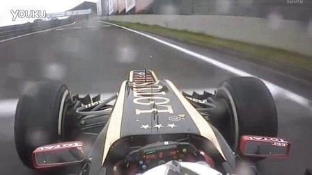 F1巴西站莱科宁上演爆笑一幕:咦,迷路了~