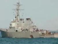 美军舰与商船相撞:10名美军船员失踪 5人受伤
