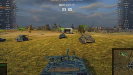 坦克世界 我叫三炮手(美服F系AMX50福熙155)