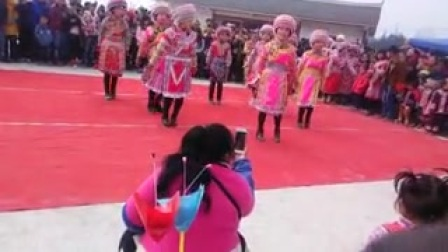 苗族舞蹈(阿哥阿妹)昭通威信天池
