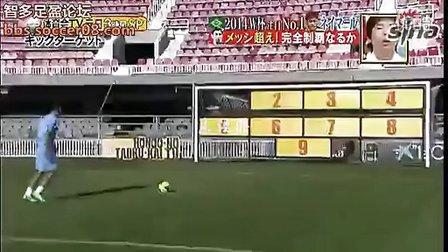 内马尔九宫格创纪录-12中9完胜梅西埃尔克森-足球视频下载