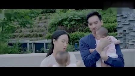 遇见王沥川:大结局,王沥川和谢小秋育有一对儿女,真是超级幸福.mp4