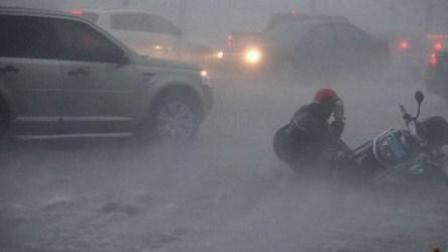 """超强台风""""山竹""""登陆菲律宾"""