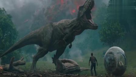 《侏罗纪世界2》经典恐龙大片最新预告出炉!漫威星爵来当主角!