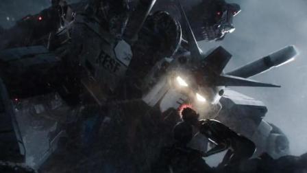《头号玩家》最终大战高达钢铁巨人vs机械哥欺拉