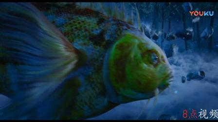 狄仁杰之四大天王:为找圆测大师,大百猿都现身了,还有五彩大鱼