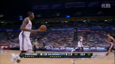 NBA凯文杜兰特到现在职业生涯十佳球