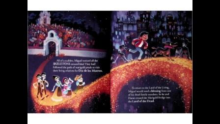 儿童睡前故事英语寻梦环游记Coco迪斯尼
