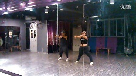 蔡妍两个人--双人舞教学视频