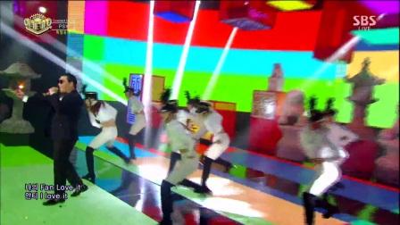 PSY鸟叔 新曲I LUV IT 2017人气歌谣第20周