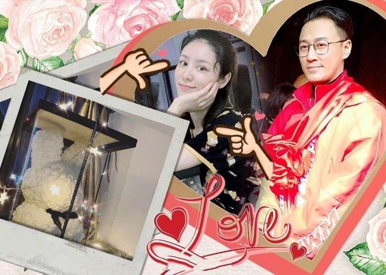 曝林峯求婚张馨月,打算40岁生日当天结婚