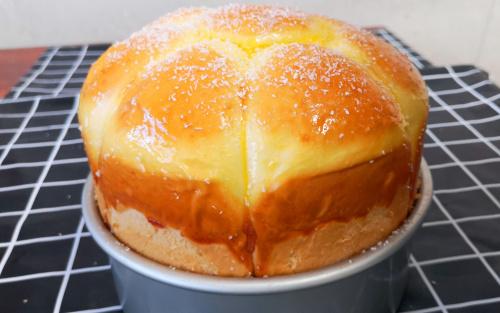 蒸面包,技巧做法详细讲解,柔软拉丝没有添加剂,简单好吃还漂亮