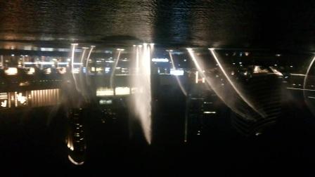 迪拜音乐喷泉之吻别