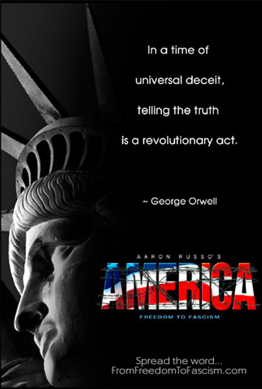 美国从自由到法西斯主义