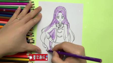 手工画教程:手绘《偶像活动》穿校服的神崎美月简笔画,喜欢吗?.mp4