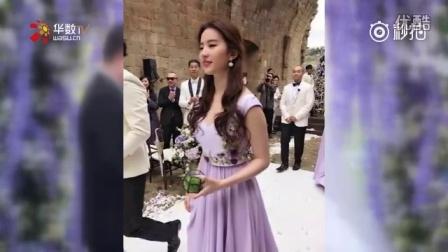 张靓颖冯轲大婚:刘亦菲抢镜,妈妈未出席