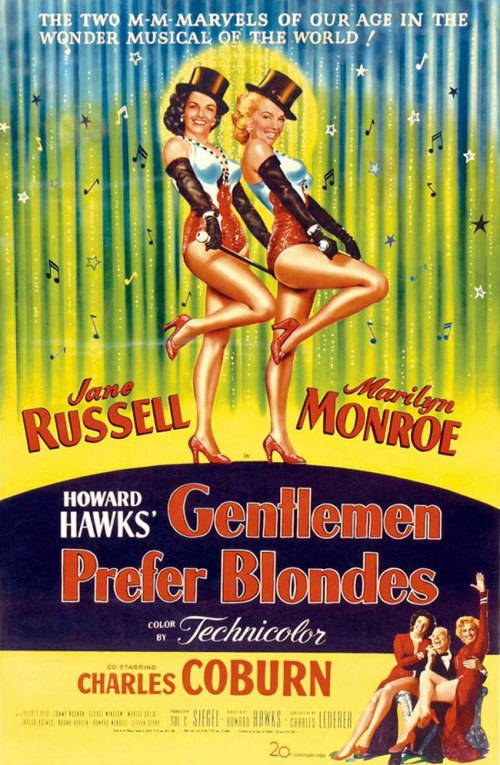 绅士喜欢金发女郎