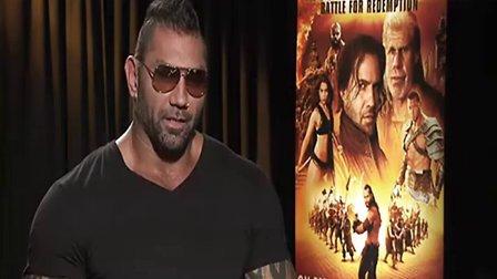 WWE BATISTA 谈及电影蝎子王3