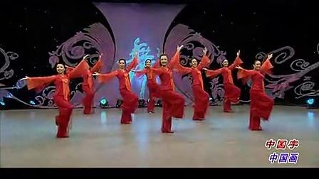 杨艺王军广场舞 中国字中国画 创意杨艺 编舞王军 正反面动作演示 演唱王月华