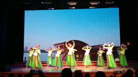 舞行遂昌南湖来文化走亲《红船向未来》