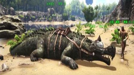 方舟生存进化10灵敏的帝王鳄,杀人于无形