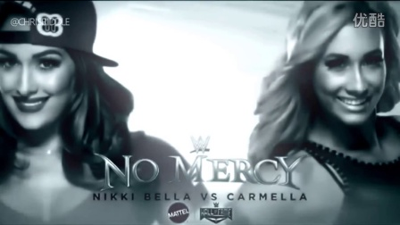 WWE No Mercy (毫不留情) 2016 Nikki Bella & Becky Lynch & Carmella & Alexa Bliss