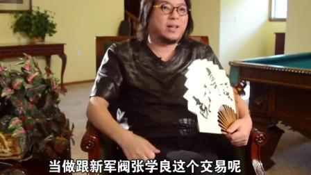 晓松说:胡汉民做了什么?蒋介石竟要把他软禁起来