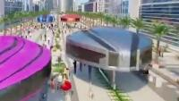 科学家模拟的未来城市交通体系,单轨行驶,车再多都不会堵