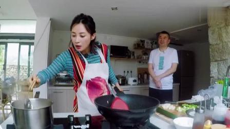 《幸福三重奏》做午饭:蒋勤勤做超香味增汤,陈建斌不想做又想吃!