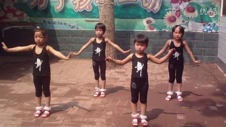行唐上方阳光幼儿园幼儿广播体操《世界真美好》