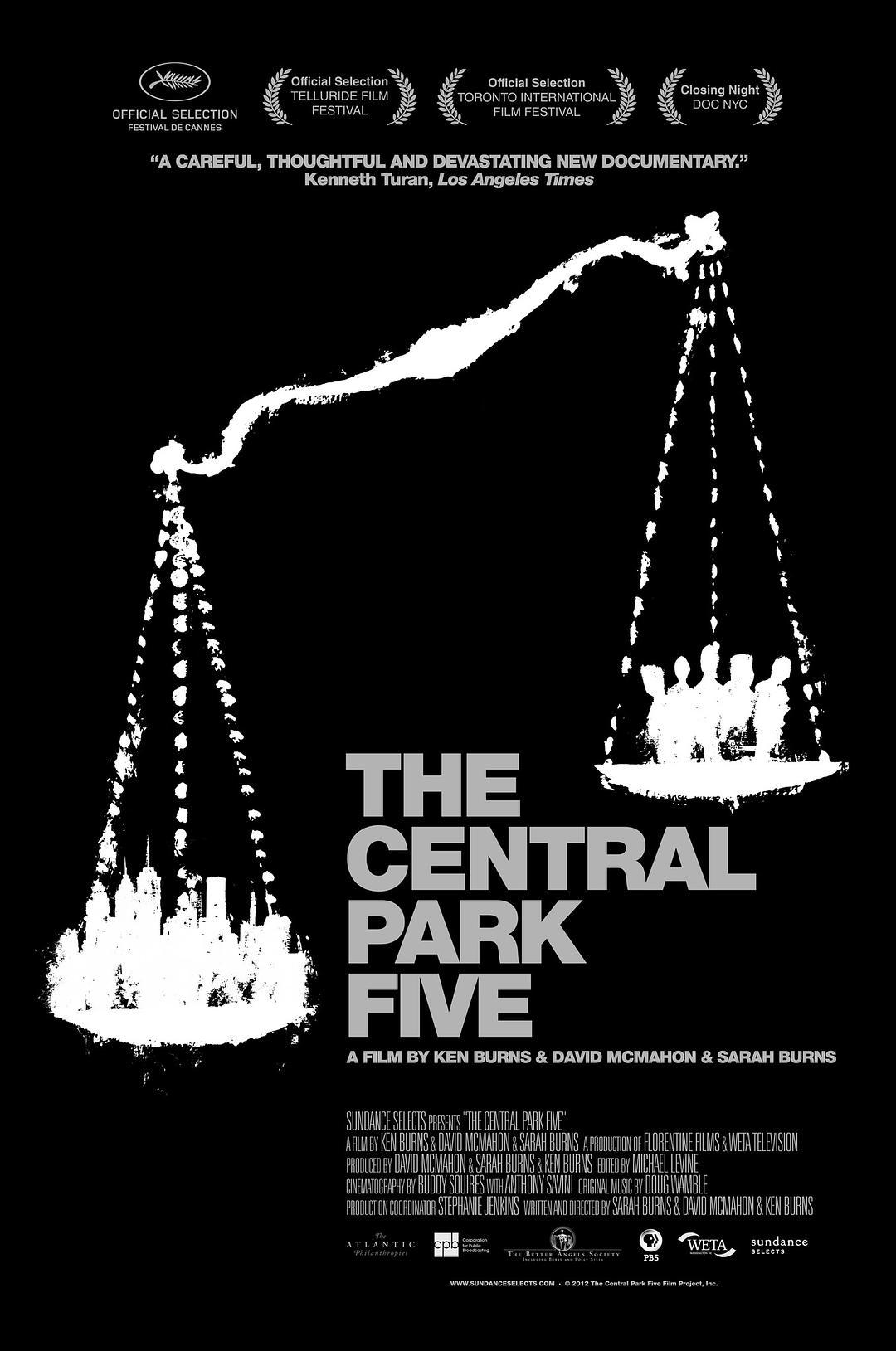中央公园五罪犯