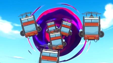 香肠派对:霸哥玩吃鸡看见黑洞,外星人穿越到游戏里,还这么玩?