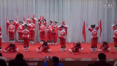 梁山县首届少儿春晚展演节目 腰鼓舞