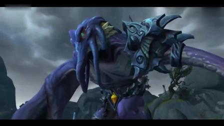魔兽世界8.0过场动画,古神势力登场#播客学院#