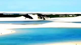 世界上最神奇的沙漠:本该黄沙漫天,如今却遍地湖泊鱼虾成群