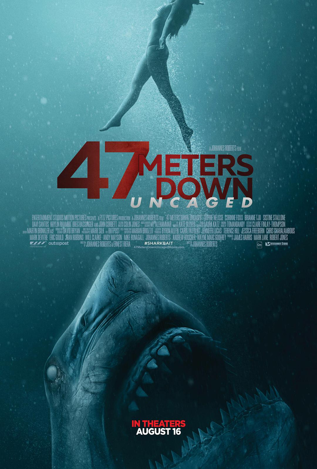 鲨海47:猛鲨出笼海报剧照