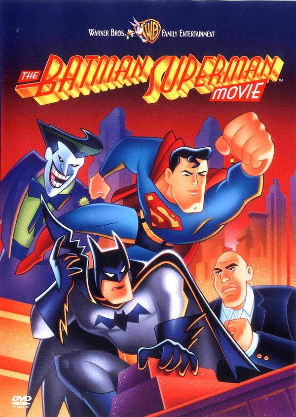 蝙蝠侠超人大电影-最佳搭档