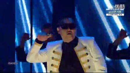 PSY鸟叔-DADDY@SBS人气歌谣(1080PHD)20151213