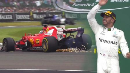 【昊说F1】法拉利双人爆胎表演 解析F1英国站